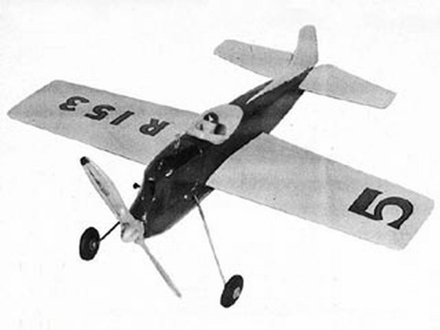 Challenger (oz5504) by Leon Shulman from Model Airplane News 1952