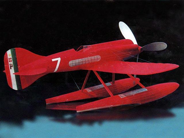 Macchi M.67 (oz5513) by Lubomir Koutny from Aeromodeller 1997