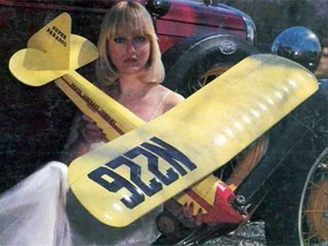 Heath Super Parasol (oz5539) by Bob Wallace from RCMplans 1978