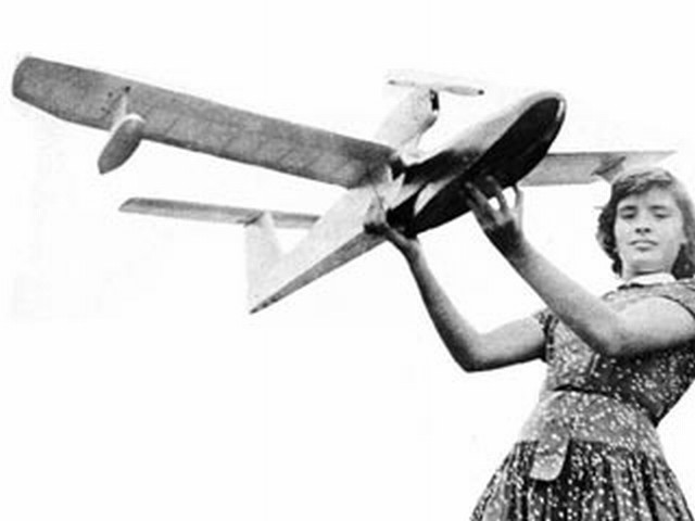 Flamingo (oz5574) by AG Lennon from Model Airplane News 1957