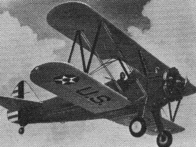 Boeing PT-17 Kaydet Trainer (oz5577) from Aristo-Craft