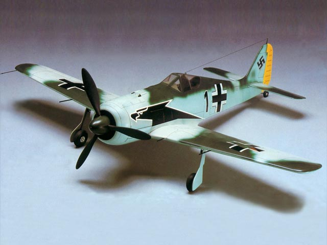 Focke-Wulf 190A - completed model photo