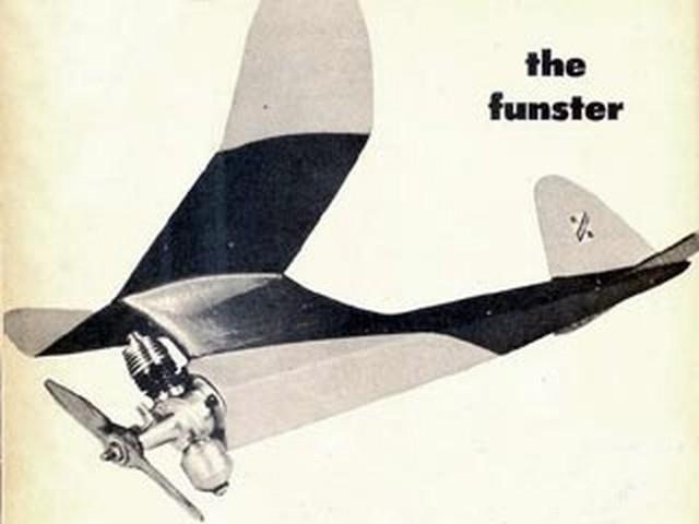 Funster (oz559) by Lud Kading from Model Airplane News 1952
