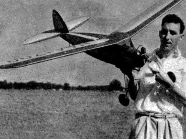 Berryloid Trophy Winner (oz56) by Harold Coovert from Air Trails 1938