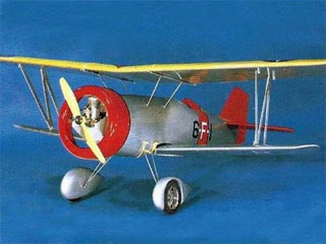 Curtiss Goshawk F11C-2 (oz5606) from OK Model Pilot