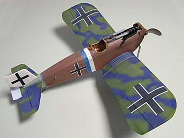 Junkers D-1 (oz5609) by Mike Midkiff from Ozark Model Aviation 2006