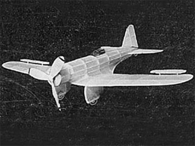 Northrop Gamma (oz561) by RE Geibel from GHQ Model Airplane 1935