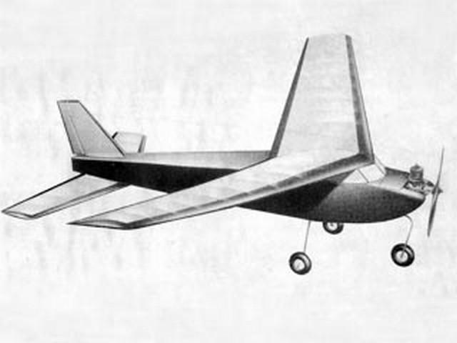 RC Aero Star (oz5612) by John Zaic from Aero Models 1962