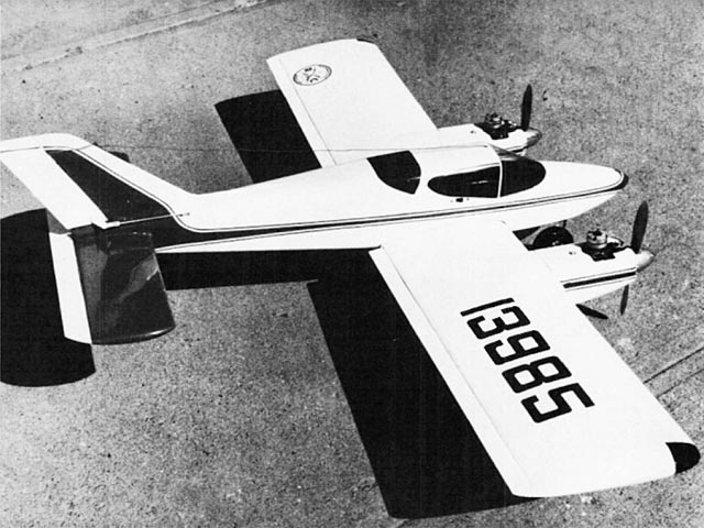 Wing Derringer - completed model photo