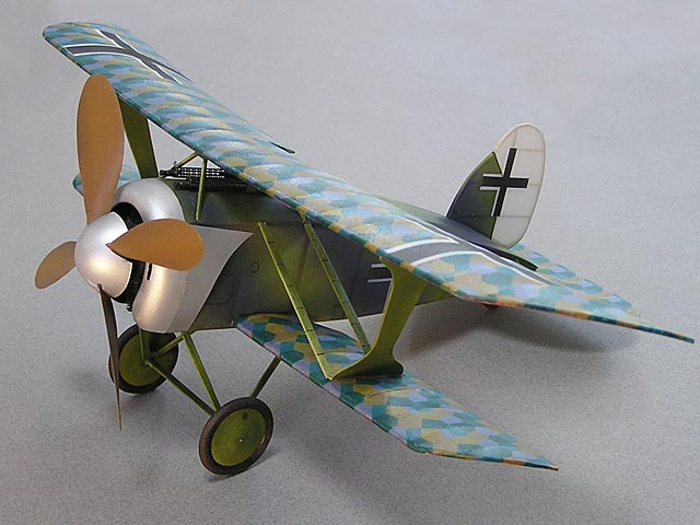 Albatros D.XI - completed model photo