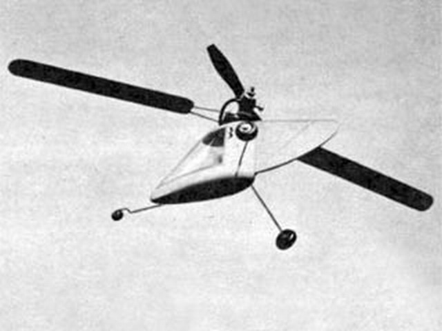 1/2A Helicopter  (oz5723) by Paul H Stahlhuth from Air Trails 1952