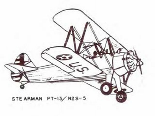 Stearman PT-13 (oz5731) by Dick Barron