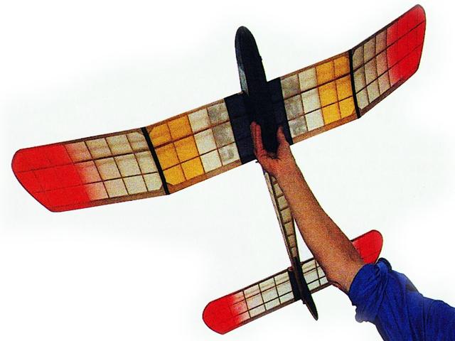 Corsair (oz5735) by JR Holt from Aeromodeller 1953
