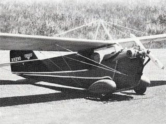 Aeronca C-1 Scout - completed model photo