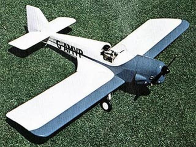 Fairey Junior (oz5757) by Dennis Foskett from RCMplans 1973