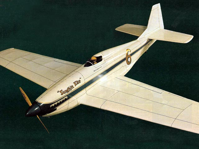 Reno Racer P-51 (oz5762) by Rich Uravitch from Model Airplane News 1983