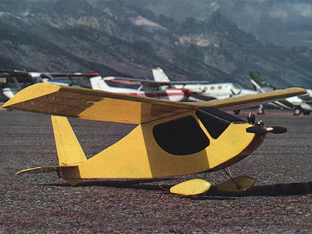 Buttercup (oz5779) by Fred Reese from Model Aviation 1985