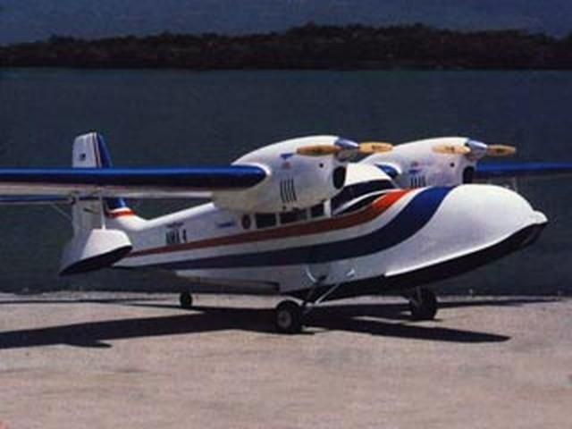 Grumman Widgeon (oz5797) by Irwin Ohlsson, Robert Sweitzer from RCMplans 1993