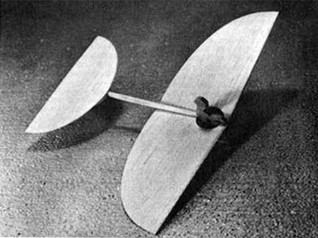 Czech Glider (oz5806) by Jiri Kalina from American Aircraft Modeler 1974