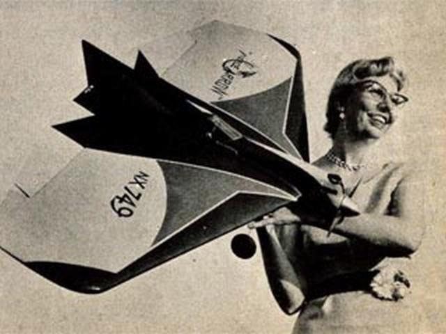 Fierce Arrow (oz5845) by Bill Netzeband from Model Airplane News 1957