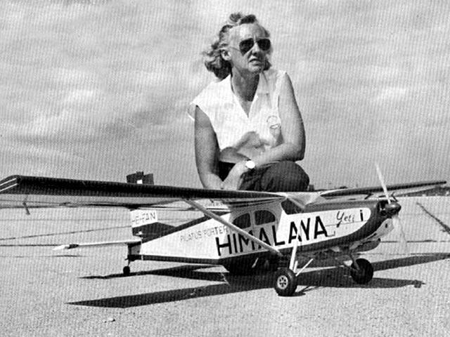 Pilatus Porter PC-6 (oz5895) by Dolly Wischer from American Modeler 1963