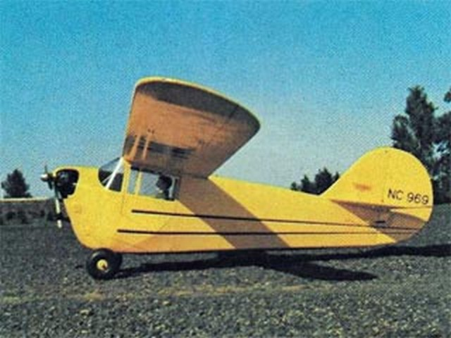 Aeronca C-3 (oz5921) by George W Noreen from RCMplans 1974