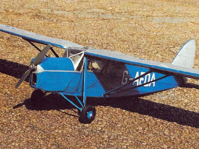 DH Puss Moth (oz5934) by Peter Holland from Radio Control Scale Aircraft 1996