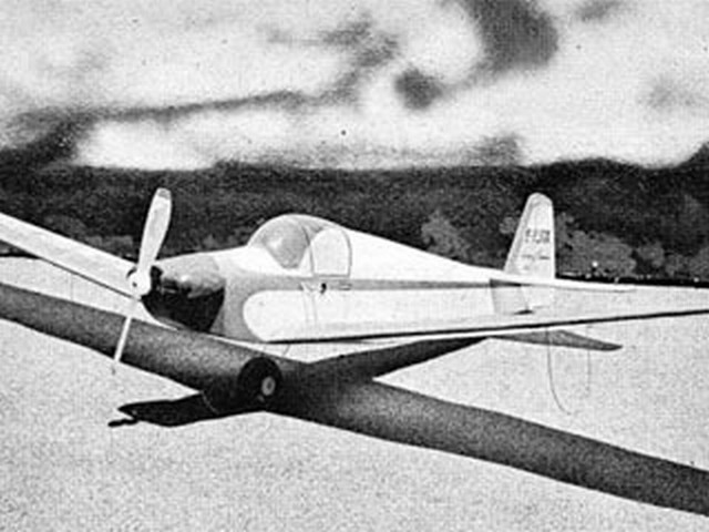 Fournier RF-01 (oz594) by Walt Mooney from Model Airplane News 1962