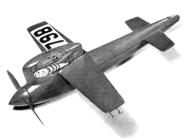 Speed Bug (oz5954) by Frank Ehling from Air Trails 1953
