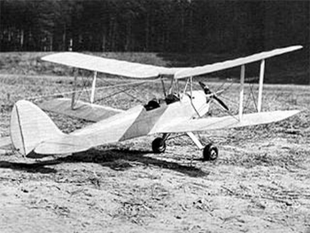Tiger Moth (oz5963) by Walt Mitchell from RCMplans 1975
