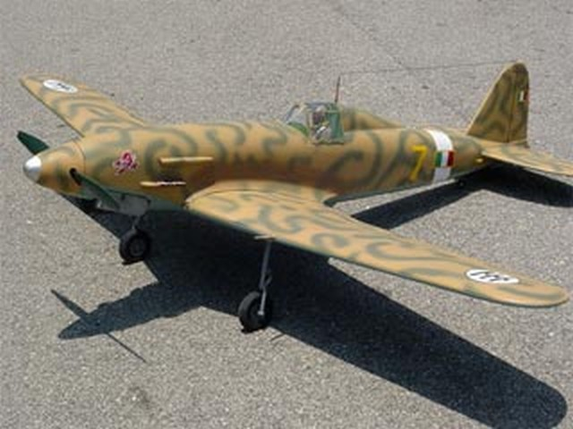 Fiat G.55 Centauro (oz5972) by Paul Byrum from RCMplans 1997