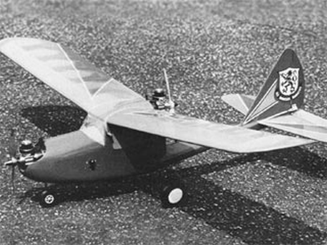 Twin Scooter (oz5980) by Dick Tichenor from RCMplans 1977