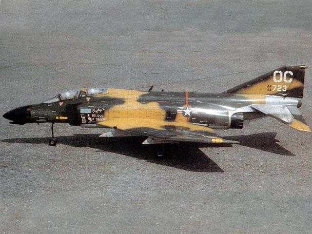F-4 Phantom (oz5982) by Pavel Bosak from RCMplans 1990