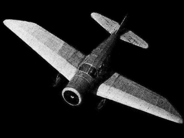 Spartan Executive (oz599) by Alan Booton from Air Trails 1938