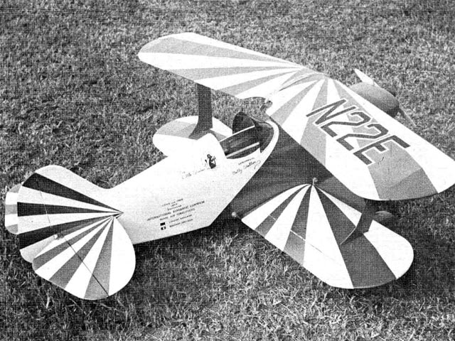 Pitts Special (oz6003) by Nick Ziroli from RCMplans 1967