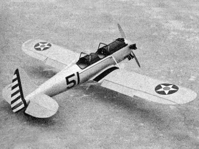 Ryan PT-22 (oz6012) by Frank Beatty from Model Airplane News 1959
