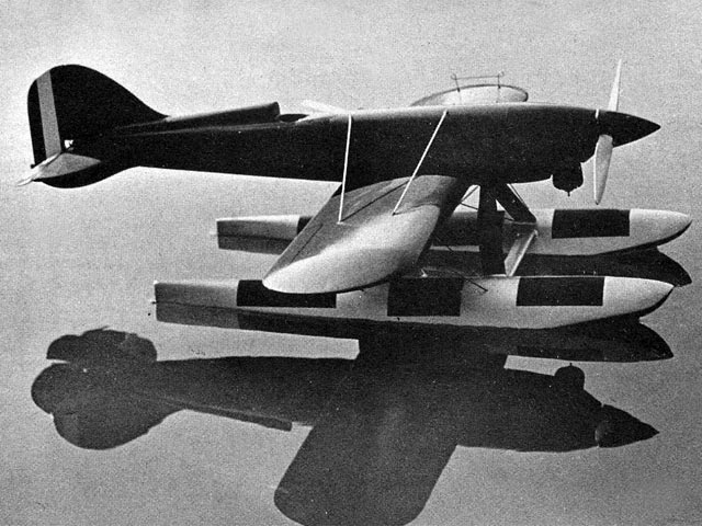 Macchi Castoldi MC-72 (oz6014) by Paul Palanek from Air Trails 1958