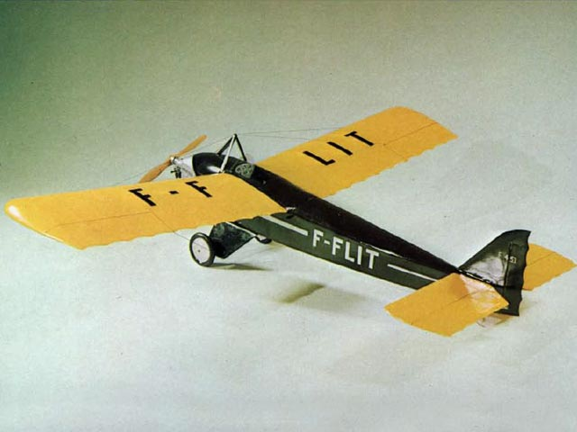 Farman F.451 Moustique (oz6019) by Hurst Bowers from RCMplans 1970