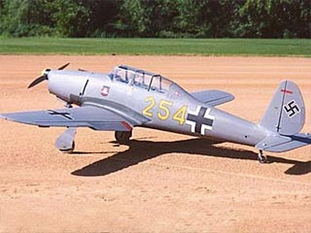 Arado 96B (oz6032) by David Andersen from RCMplans 2002