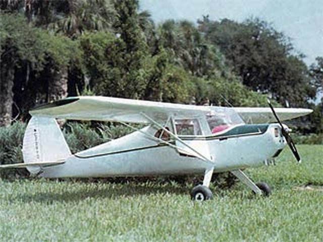 Cessna 140 - completed model photo