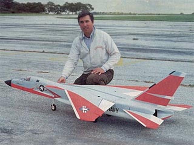 North American A3J-1 Vigilante (oz6042) by Mark Frankel from RCMplans 1983