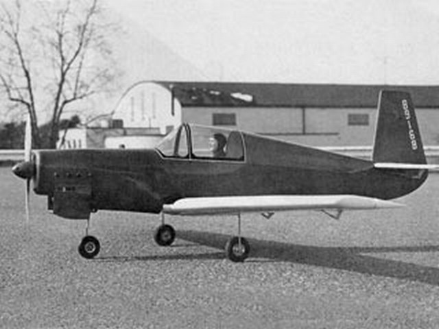 Mooney M-18 (oz6048) by Stan Hines from Flying Models 1974