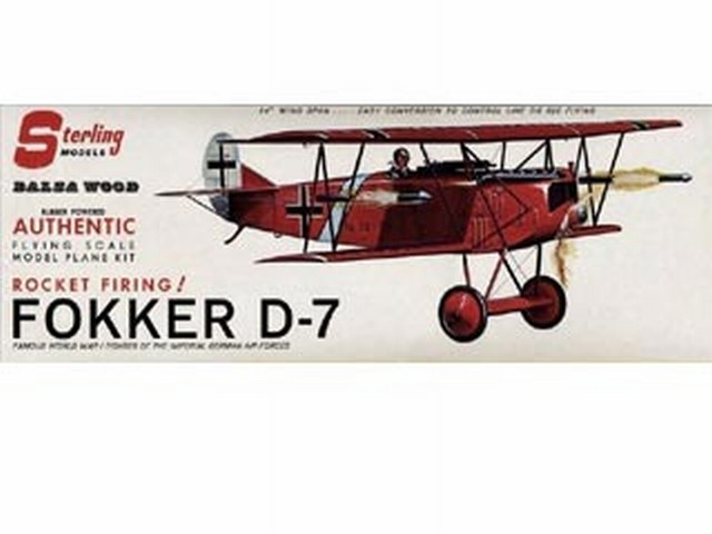 Fokker D7 (oz605) from Sterling