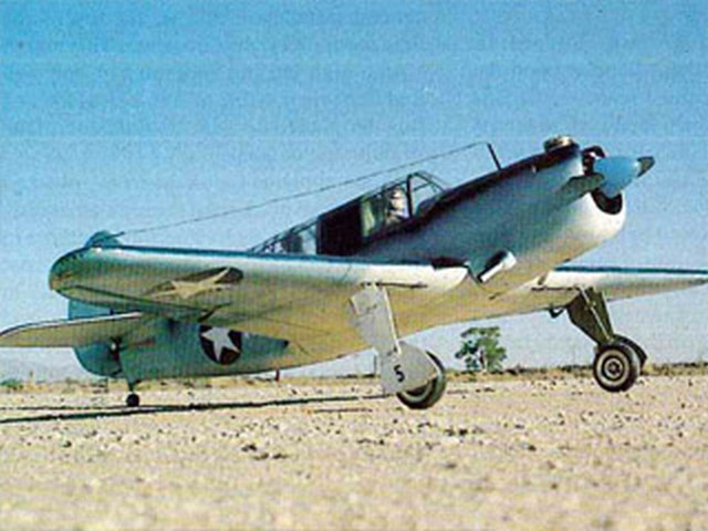 Curtiss SB2C-1 Helldiver (oz6054) by Don Williams from RCMplans 1975