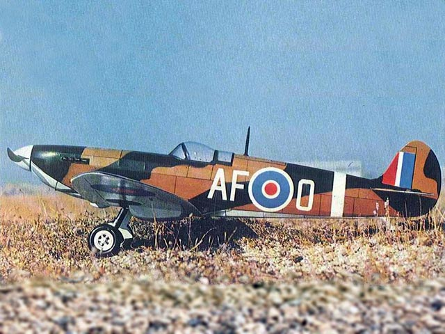 Spitfire (oz6056) from Modelhob 1976