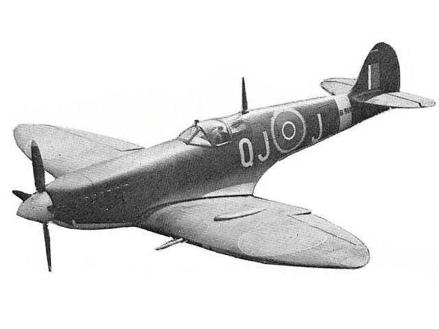 Spitfire IX (oz6058) by Mick Harris from Complete-a-Pac 1969