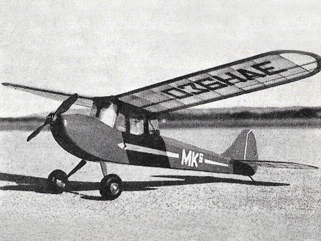 MK Sportster (oz6061) by Hoh Fang-Chiun from Model Aircraft 1956