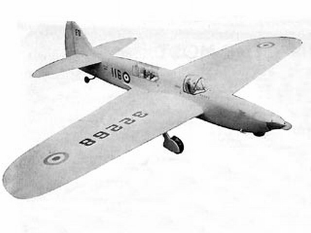 Firefly (oz6074) by Frank Warburton from Model Aircraft 1962
