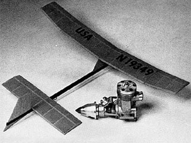 FAI Peanut (oz6095) by Bill Hannan from Model Airplane News 1976