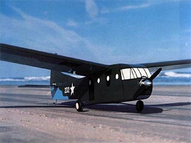 Waco CG-4A Glider (oz6106) by Stu Richmond from RCMplans 1977